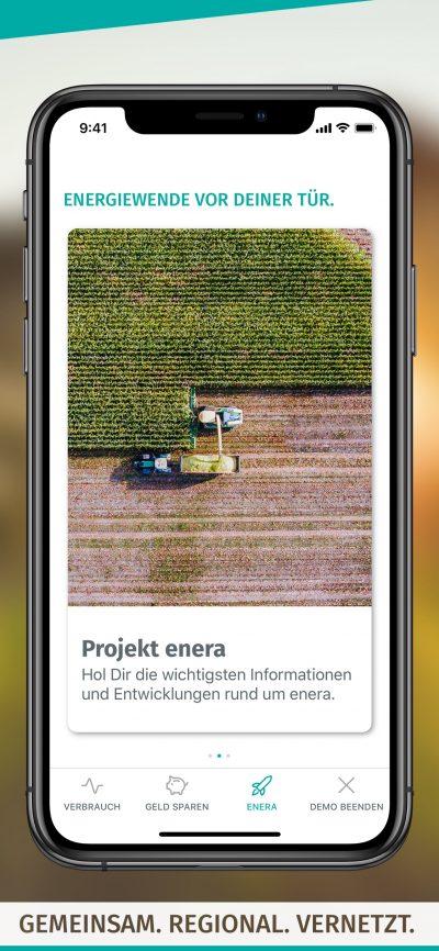 enera App-Screen-Projekt