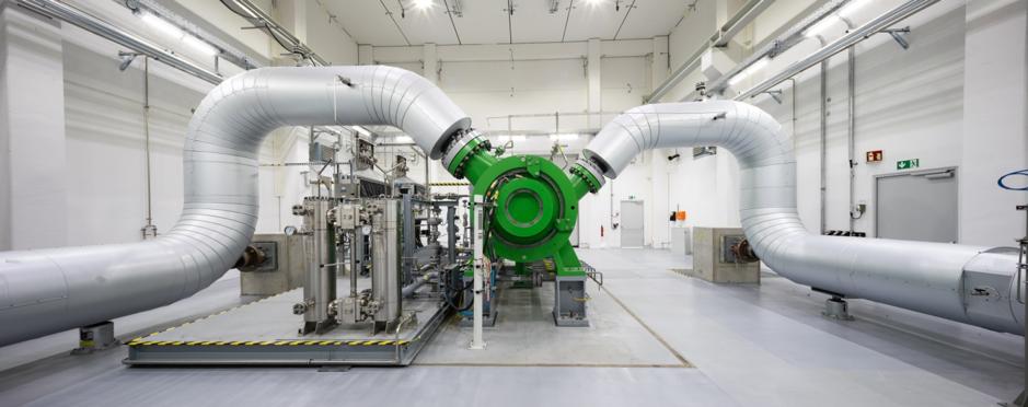 Im Fokus der Flexibilisierung: Der elektrische Verdichter der OGE GmbH (Quelle: OGE GmbH)