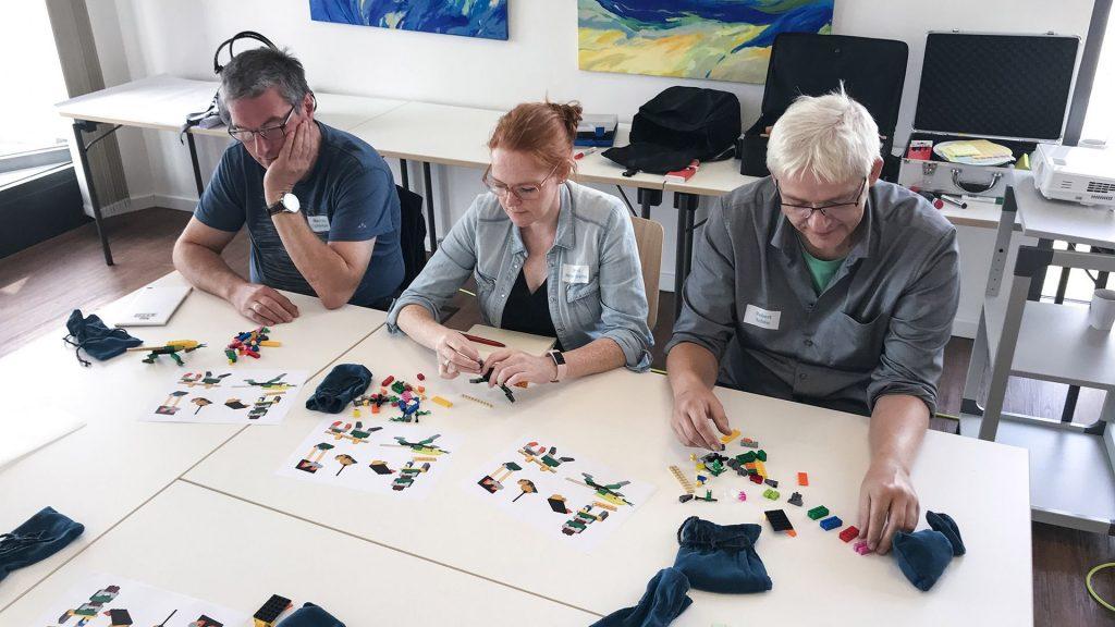 Lego Serious Play beim Barcamp Dangast