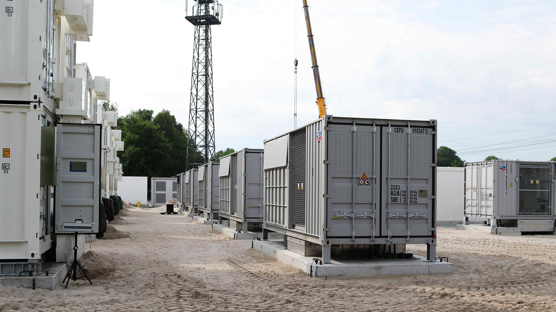 Batteriespeicher von be.storaged in Varel