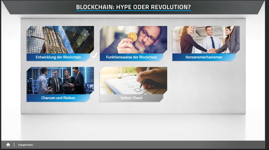 e-training-blockchain