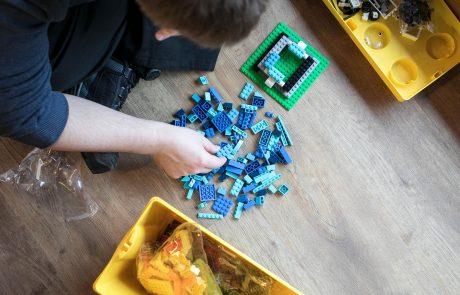 Lego bei der enera Design Challenge