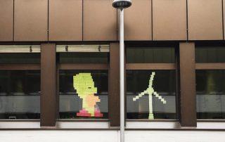 enera post-it war Homer