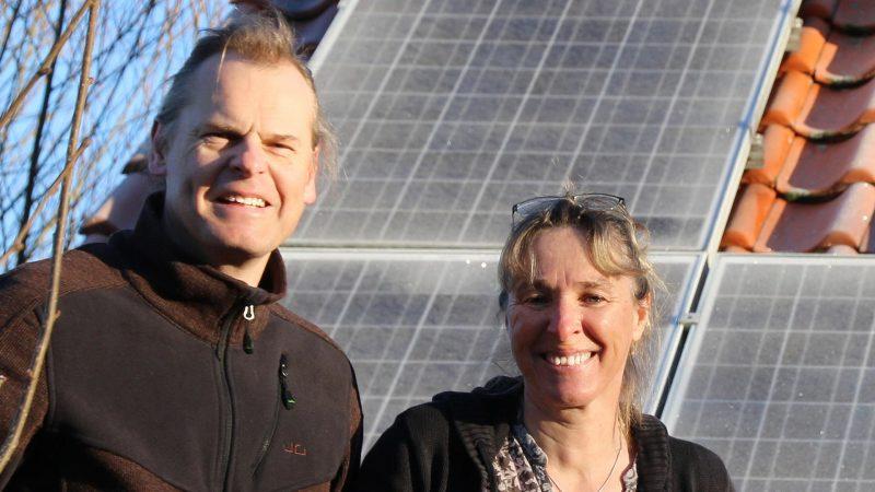 enera zu Besuch bei Lars Gruhnert und Sabine Meyer