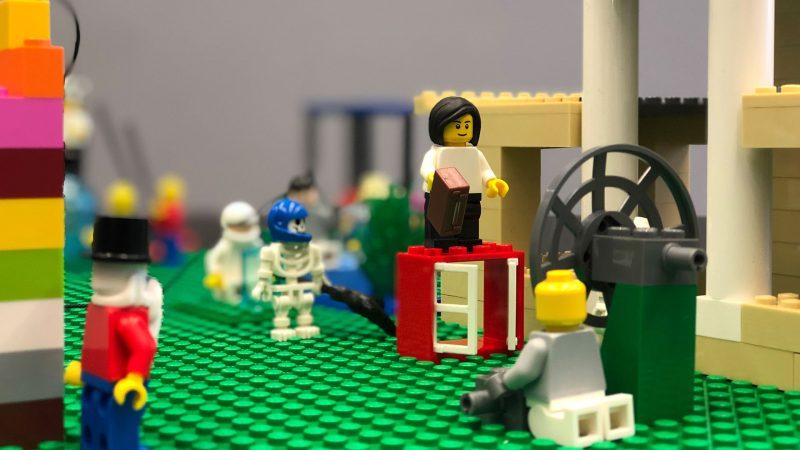Lego Serious Play Aufbau