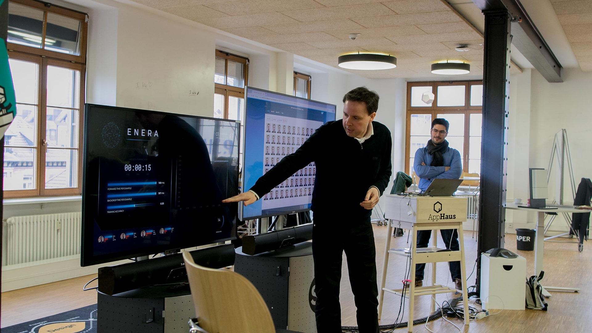 enera Machine Learning mit SAP Hybris Labs