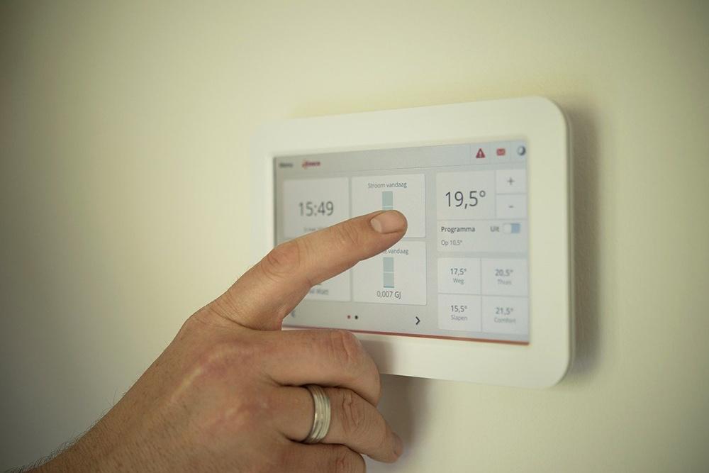 smart home zusatz temperatur kontrollieren mit thermostat